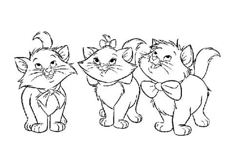 coloring pictures of baby kittens cute kitten coloring pages to print alltoys for