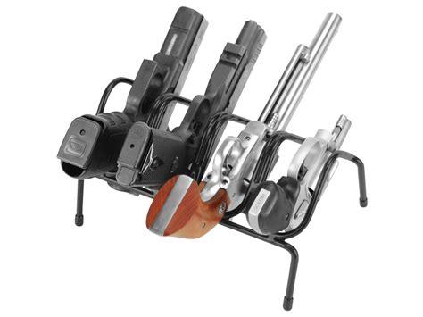lockdown pistol rack 4 gun vinyl coated steel black