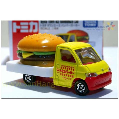 Tomica Town Box 1 m 244 h 236 nh xe tomica toyota town ace hamburger 54 box