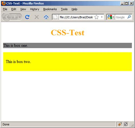 test html css lesson 2 how to create your css file learnwebcode