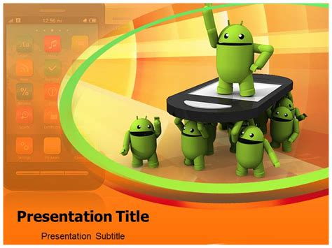 Android Powerpoint Templates Presentation Ppt Backgrounds For Power Point Android Powerpoint Template