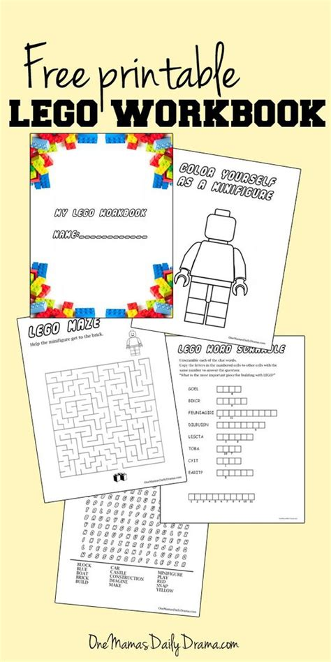 printable lego activity sheets activities free lego and lego activities on pinterest