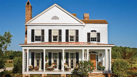 southern design home builders 17 house plans with porches southern living
