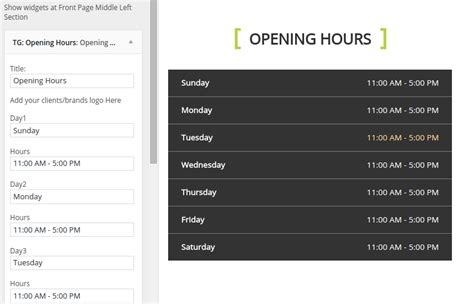 pc themes operating hours fitclub themegrill docs