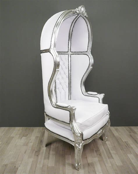 poltrone barocche bianco barocca sedia statue di bronzo