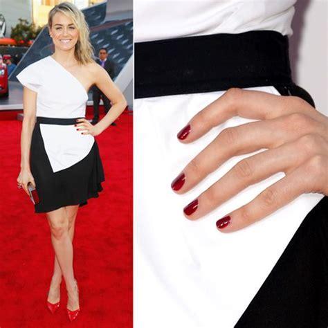 Best Nail Color For Black Dress   best colour nail polish for black dress best dressed