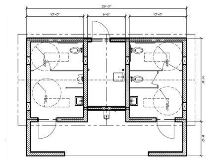 public restroom floor plan public restroom layout bathroom stall dimensions