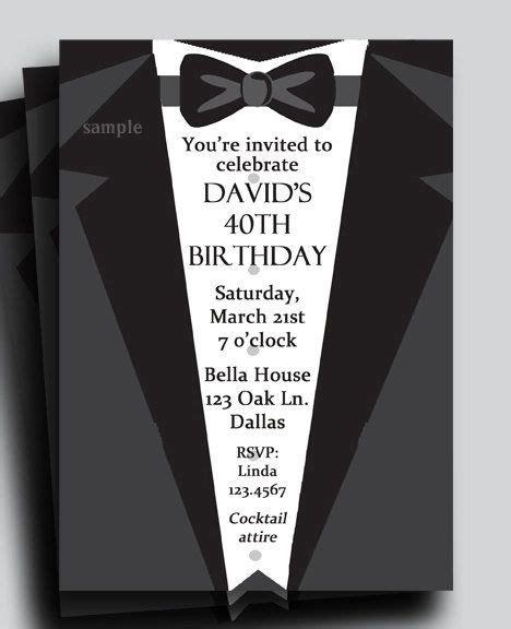 suit  tie tuxedo invitation printable  thatpartychick