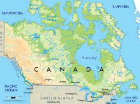 map of canada map of canada city geography
