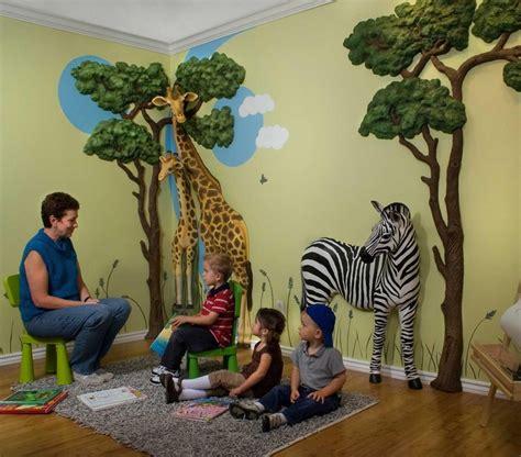Dinosaurs Murals Walls safari 3d wall d 233 cor by beetling design jungle theme