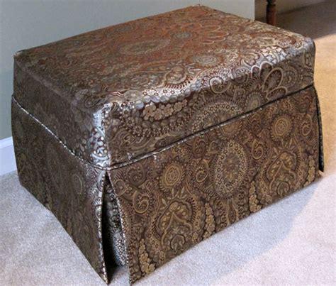 slip cover ottoman ottoman slipcover custom images