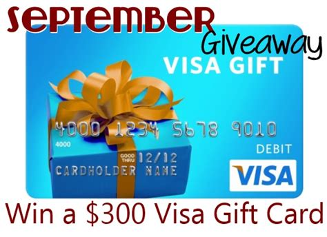 300 Visa Gift Card - 300 visa gift card giveaway with momma young friends penney lane