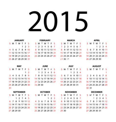 2015 Payroll Calendar 17 2015 Monthly Calendar Vector Images 2015 Calendar