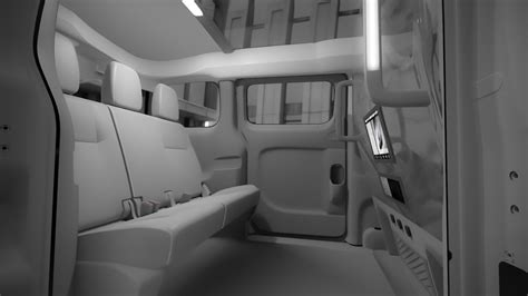 nissan nv200 office new york hails nissan for its new cabs cnet