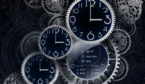 black clock  wallpaper hd android market