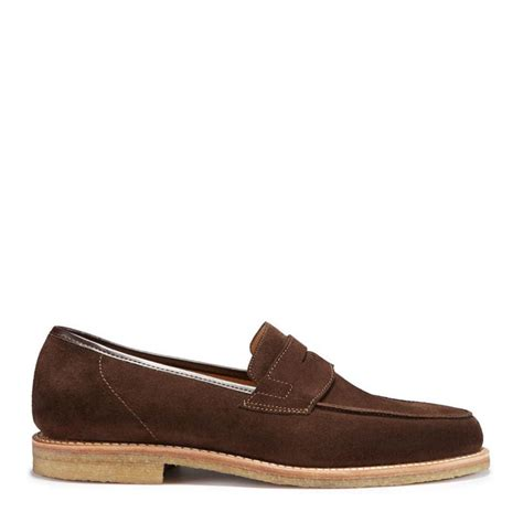 crepe sole loafers brown suede loafers with crepe sole hugs co