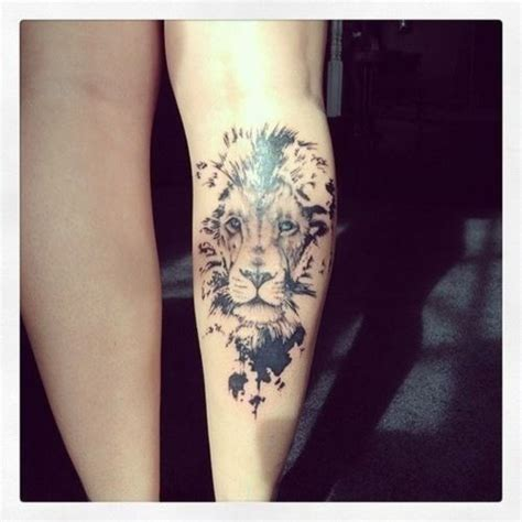 tattoo on thigh in bible lion tattoo gonna make the mane into thorns and add a