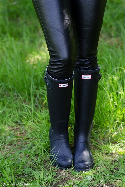 matte black wellies my wellies boots collection raindrops of