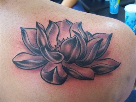 black and white lotus flower tattoo gallery for lotus design for on arm
