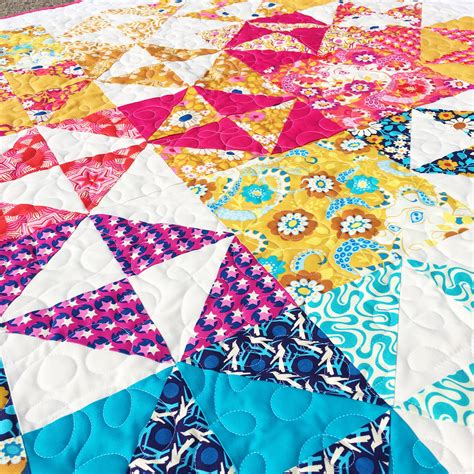 Broken Dishes Quilt by How To Make Broken Dishes Quilt Blocks Using Half Square