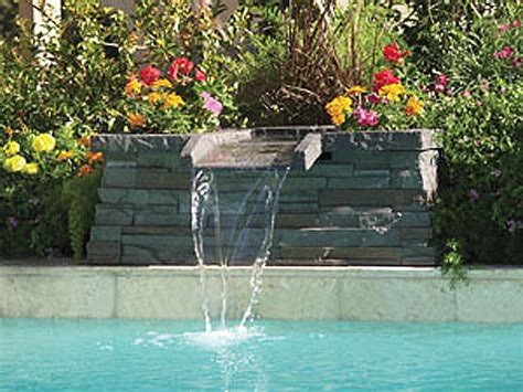 inground pool fountains small pool water features intheswim pool blog