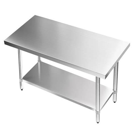 kitchen stainless steel benches 304 stainless steel kitchen work bench table 1219mm buy