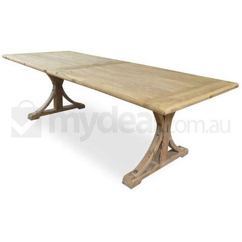 oak elm wood table 1 98m reclaimed buy