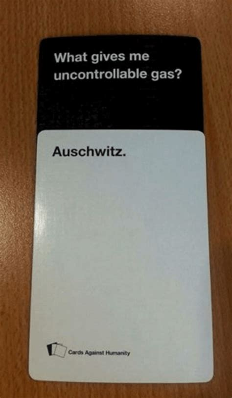 cards against humanity best of 31 hilariously offensive cards against humanity answers