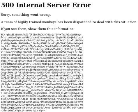 500 errore interno server 500 server error il sito di luca