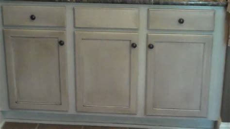current cabinet refinishing project bathroom vanity
