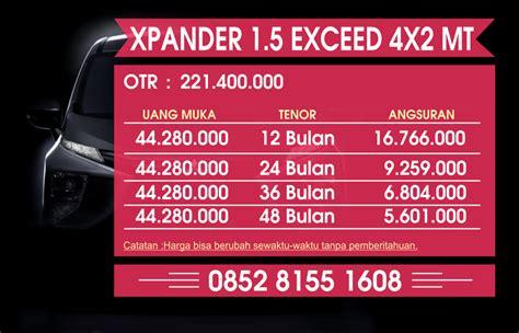 Blender Manual Di Jogja promo kredit xpander exceed di jogja dealer mobil mitsubishi xpander jogja harga kredit promo
