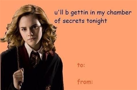 valentines harry potter corny harry potter valentines things