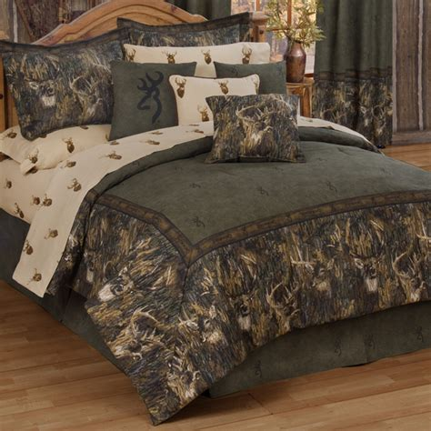Camouflage Bed Set Camo Bedding Browning Whitetails Bedding Collection Camo Trading