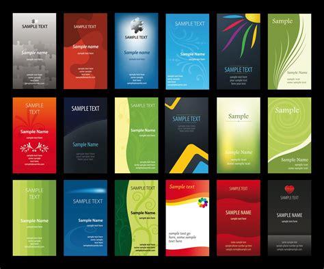 download template kartu nama vector vertical business cards vectors design images