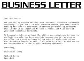 Standard Business Letter Definition Sle Business Letter The Best Letter Sle