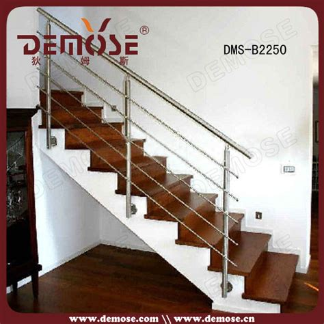 Stair Rail Pole Design Stainless Steel Stair Railing Post Pole Baluster