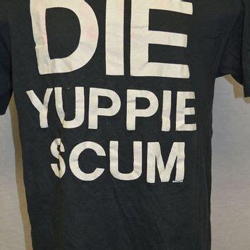 Scum L S T Shirt vintage die yuppie scum t shirt shirt from