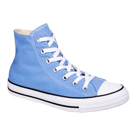 Top Blue converse all pioneer blue hi top boots unisex high