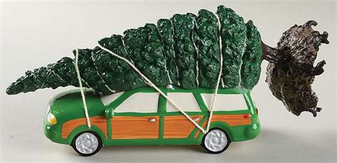 griswold car with christmas tree pics department 56 national loon s vacation griswold tree 10354188