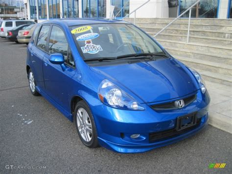 2008 blue pearl honda fit sport 50690806 gtcarlot car color galleries