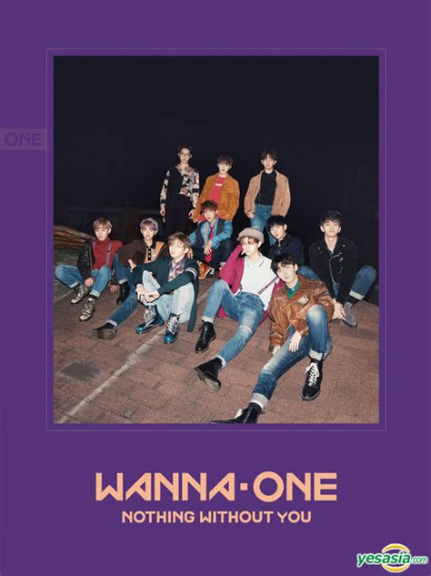 Wanna One Album Nothing Without You Wanna Versi yesasia wanna one mini album vol 1 repackage 1 1 0 nothing without you wanna version cd