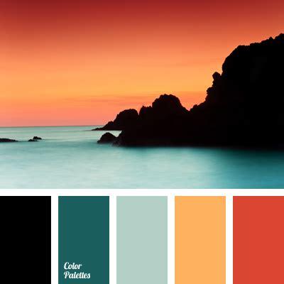 sunset color scheme color of sunset color palette ideas