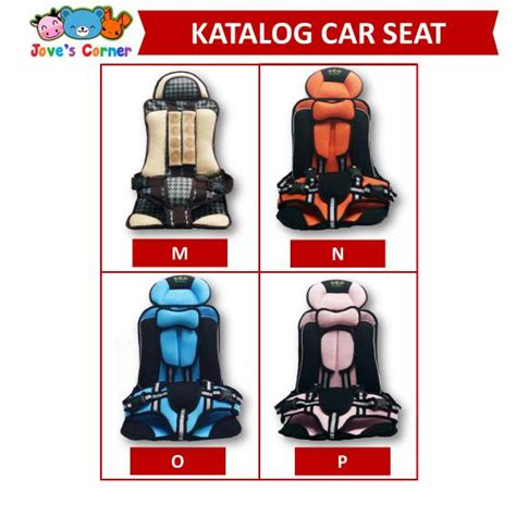 Baby Car Seat Tempat Duduk Mobil Baby Portabel Lipat jual car seat portable bayi murah seat belt mobil anak
