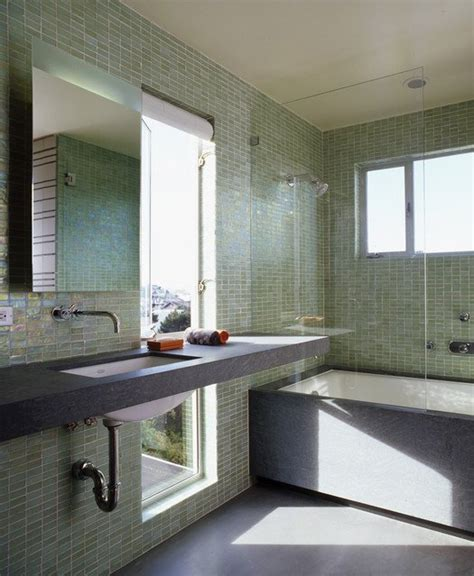 grey green bathroom tiles ideas  pictures