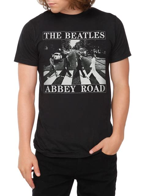 hot topic funny shirts the beatles abbey road t shirt hot topic and fashion