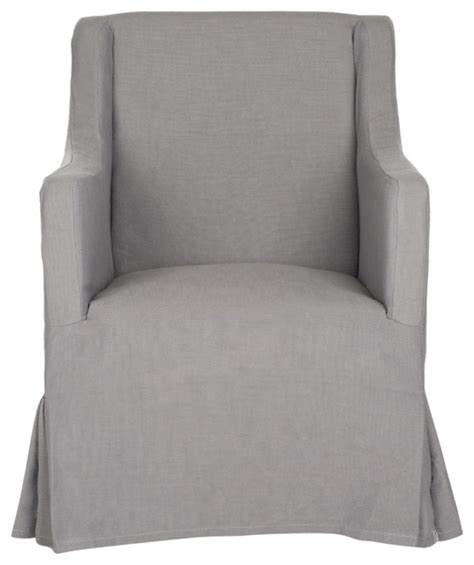 accent chair slipcover safavieh sandra slipcover chair transitional armchairs