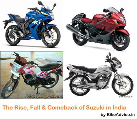 suzuki motorcycle history india pic