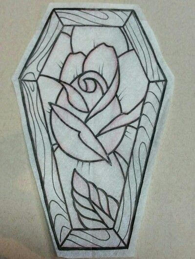 traditional coffin tattoo coffin and idea tattoos