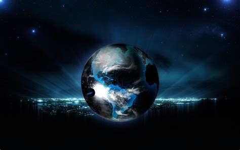wallpaper blue earth desktop blue earth wallpapers