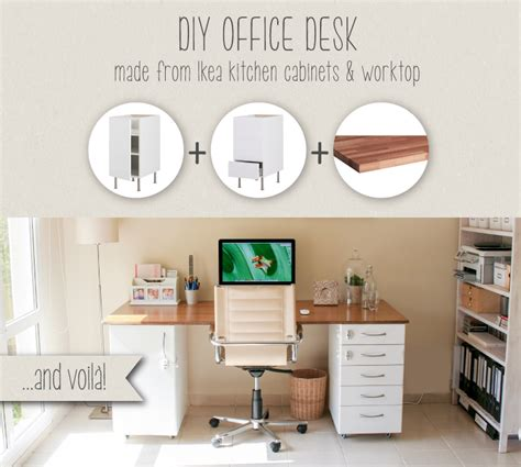 diy desk from ikea parts the wellappointed desk